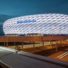 Allianz Arena München Außenansicht