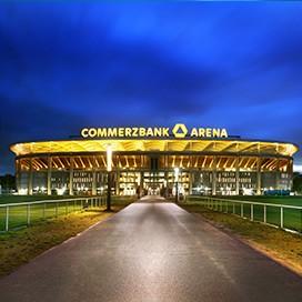 Commerzbank Arena Frankfurt Außenansicht