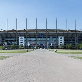 Hamburg Volksparkstadion Außenansicht