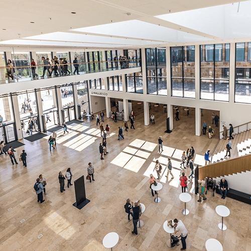 Innenansicht RheinMain CongressCenter Wiesbaden