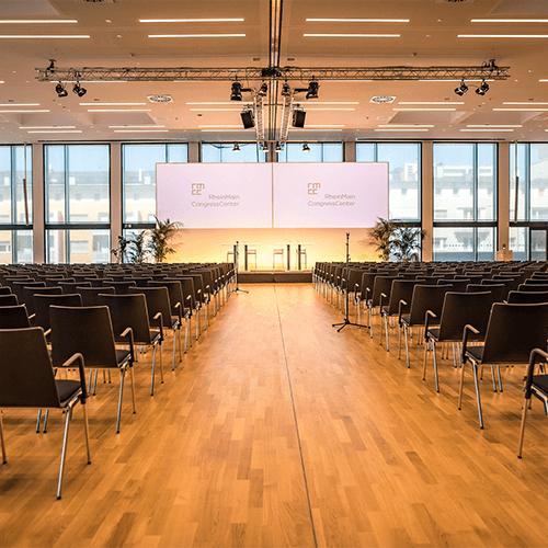 Innenansicht Terrassensaal RheinMain CongressCenter Wiesbaden